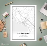 FALKENBERG karta 50X70