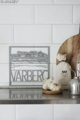 Grytunderlägg Trivet Varberg silver