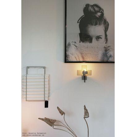 Ljusförvaring ljushållare grå