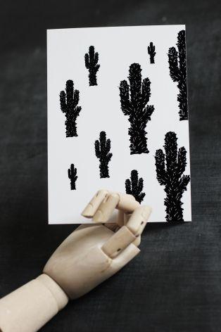 Vykort Kaktusar