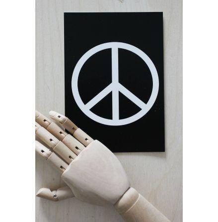 Vykort Peace