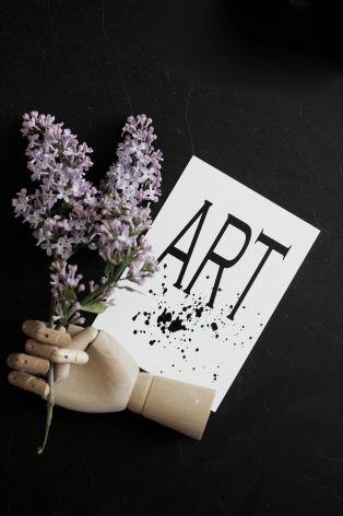"""Vykort """"Art"""""""