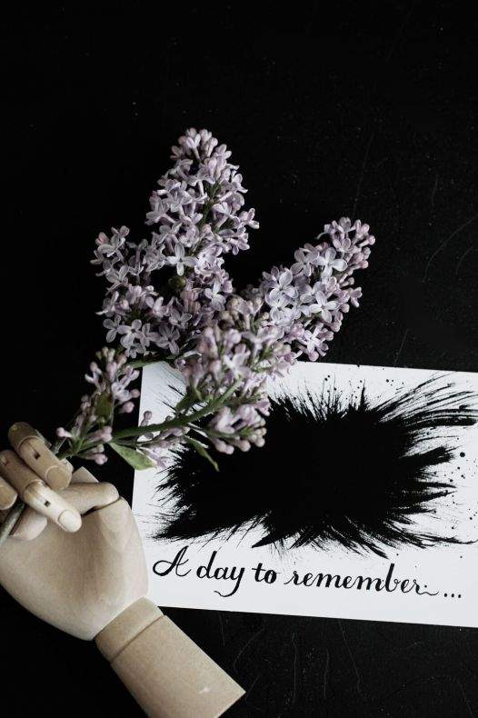 """Vykort """"A day to remember"""""""