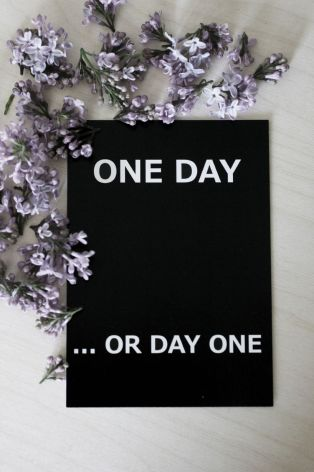"Vykort ""One day"""