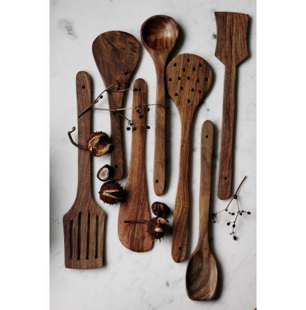 Köksredskap av trä, set 7 st
