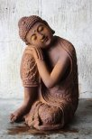 Buddha trädgårdsdekoration
